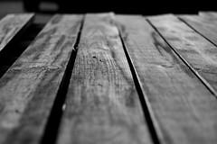 Stara marina/Old marina (salaminijo) Tags: wood three drvo wooden marina riverside crnobela monochrome bw blackandwhite macro canon eos 50mm18 drvena outdoor nature bridge most old stara stari