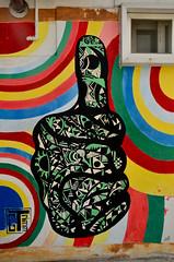 Mural In Ihwa Mural Village (itchypaws) Tags: ihwadong ihwa mural village graffiti thumb 2016 holiday vacation asia far east south korea seoul