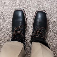 New Boots (Oliver Leveritt) Tags: nikond90 sigma30mmf14exdchsm oliverleverittphotography boots ariat flash speedlight sb600 garyfonglightspherecloud
