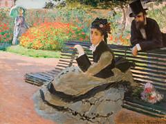 Camille Monet on a Garden Bench (Thomas Hawk) Tags: camillemonetonagardenbench claudemonet manhattan met metropolitan metropolitanmuseum museum nyc newyork themetropolitanmuseumofart usa unitedstates unitedstatesofamerica painting