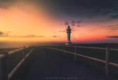 Luces del atardecer (Mer SGarca) Tags: cantabria cantabrianaturalezavalle cantbrico cantabrico canon5dmarkiii canon1740l nisifilters nisifilterholderv5 nisicpl luces light landscape landscapes paisaje paisajes fotografadepaisaje paisajeando lighthouse faro gua mar sea seascape paisajedemar