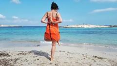 #Yoga #yogi #beachlife #october #orange #Formentera #lifestyle #sun (! . Angela Lobefaro . !) Tags: instagramapp square squareformat iphoneography uploaded:by=instagram juno asana girl seaside boy hat hut beach bikini