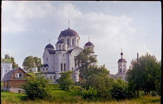 Cross Cathedral in Polotsk, old monastery (1997)