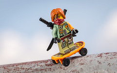 Skating in Hamburg (Reiterlied) Tags: 105mm d5200 dslr germany hamburg lego legography lens macro minifig minifigure nikon ninjago photography prime reiterlied ronin sipgoeshamburg2016 sigma stuckinplastic toy