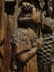 ca. 1520-1530 - 'altarpiece with Antoine de Lescure', former glise Notre-Dame, Lescure-Jaoul, dp. Aveyron, Muse des Arts Dcoratifs, Paris, France (roelipilami) Tags: 1520 1530 altarpiece retable retabel altar triptych antoine de lescure aveyron lescurejaoul france occitanie retablo muse des arts decoratifs paris museum les donor donateur opdrachtgever armour armure harnisch harnas armadura surcoat surcotte wapenrok waffenrock praying prayer crucifixion kreuzigung kneeling heraldry noyer walnut renaissance