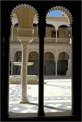 Patio de la Casa de Pilatos (Maison de Pilate), Sevilla, Andalucia, Espana (claude lina) Tags: claudelina ville town city espana spain espagne andalucia andalousie architecture sevilla sville casadepilatos maisondepilate