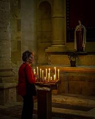 In Chiesa di San Biagio (Mike Schaffner) Tags: bridget candid candle candles chiesa chiesadisanbiagio church italia mary portrait saintblaise sanbiagio statue toscana tuscany italy it
