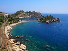 Taormina (Sicily) (ClaudioLicataPA) Tags: taormina sicily isolabella isola