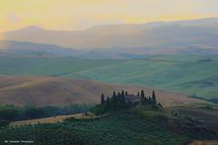 Waking up to a sunrise (Rex Montalban Photography) Tags: italy europe tuscany siena pienza hdr sanquiricodorcia rexmontalbanphotography poderebelvedere valdorciaregion