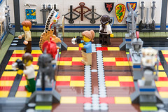 Museum of LEGO History (Milan Sekiz) Tags: old history museum model ancient lego map indian tools collection armor bow sword shield samurai arrow weapons