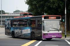 SBS Transit Volvo B10M Mark 4 Walter Alexander Strider (nighteye) Tags: bus volvo singapore harrypotter strider mk4 mark4 sbstransit b10m theexhibition walteralexander service161  sbs1981m