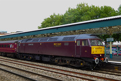 47786 west  47804 east 5Z30 1205 Carnforth Steamtown - Pengam Sidings, Cardiff at Newport 26.09.2014 (3) (The Cwmbran Creature.) Tags: rail class british railtour tours compass 47