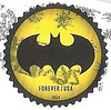 USA  stamp Batman (sftrajan) Tags: usa stamp philately postagestamp batman yellow black timbre sello briefmarke филателия philatelie 郵便趣味