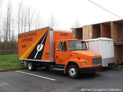 Allied Van Lines Freightliner FL50 Box Van (Michael Cereghino (Avsfan118)) Tags: lines truck moving box storage van prestige freightliner allied fl50