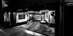 Amsterdam Alley (hellmsen) Tags: white black amsterdam night canon eos nacht eingang stm schwarz backdoor 18mm parkhaus 10mm weis 600d 1018mm hellmsen