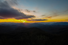 NYE Sunset 2 (Bradley Nash Burgess) Tags: sunset mountain mountains nikon hike adventure explore nantahala appalachiantrail wesser at d7000 nikond7000