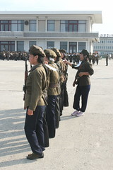 Girls Drilling in Wonsan (Ray Cunningham) Tags: girls north korea drilling dprk wonsan