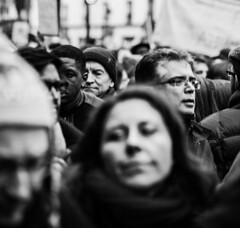 Paris, 11 janvier 2015 (v) (Dan Bouteiller) Tags: blackandwhite bw white black paris france monochrome freedom noir noiretblanc january terrorist 11 nb charlie terrorism tribute et janvier blanc marche manifestation terroristattack 2015 charliehebdo 11012015 jesuischarlie