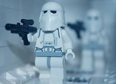 """Imperial troops have entered the base! Imperial troops have ent"" (casey_hf) Tags: blue cold rebel cool lego awesome great running have legos imperial sw vader base troops legostarwars hoth snowtrooper theempirestrikesback entered lsw hothbase swlego"