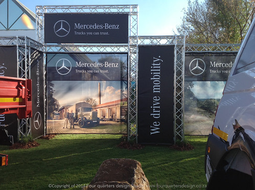 BANNER STAND DESIGN AND INSTALLATION ROAD SHOWS SOUTH AFRICA