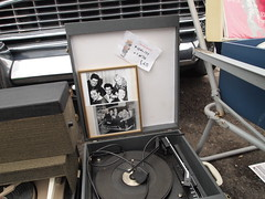 Vinyl's back in (Cath Dupuy) Tags: london cars ford chevrolet thames vintage austin river shopping 60s riverside sale cadillac retro southbank 50s cocacola morris rocknroll timeout classiccars stalls bricabrac 40s bootsale mannequi dayouy