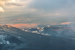 Dragobrat (Glorf Anger) Tags: sunset panorama mountains nature clouds canon snowboarding eos freedom earth air ukraine planet 5d markiii dragobrat