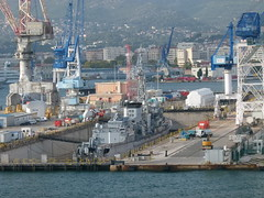 Dry Dock (Toats Master) Tags: ocean france harbour ships naval vessels toulon