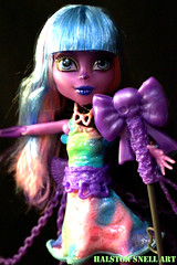 Reaping (Cerulean Fish) Tags: color monster river toy toys high doll dolls candy grim reaper spirit pastel ghost haunted spirits ghosts mattel styxx ghosts11215
