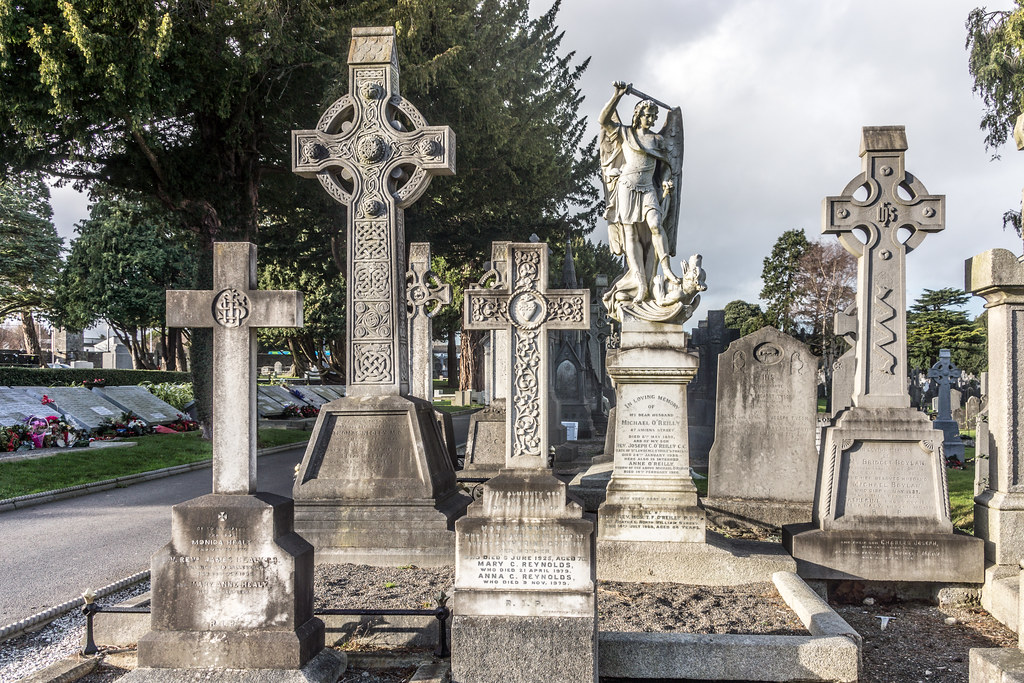 Glasnevin Cemetery, officially known as Prospect Cemetery REF-101134