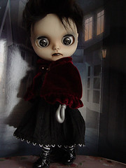 My bloody Valentine (pacific_rin) Tags: skull doll valentine blythe hook custom scully