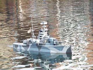 Camouflaged Cruiser