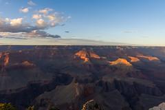 Fin de journe au Grand Canyon (PhotoSophil) Tags: sunset arizona nature sunrise place canyon gorge ravin lightroom grandcanyonnationalpark grandcanyonvillage tatsunis coucherleverdesoleil pentaxk3