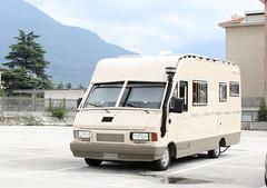 MOTORHOME BLINDATO (Il diabolico coupe) Tags: italy italia fiat mo camper motorhome furgone autocaravan ducato