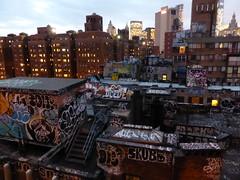 New York graffiti rooftops (duncan) Tags: nyc newyorkcity newyork graffiti