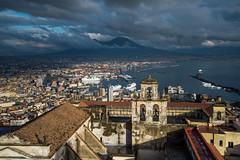 Naples - Vomero - Castel Sant'Elmo (bautisterias) Tags: campania southernitaly naples napoli נאפולי neapel ナポリ nápoles storm d750