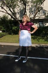 new106730-IMG_5276t (Misscherieamor) Tags: tv feminine cd tgirl transgender mature sissy tranny transvestite crossdress ts gurl tg travestis shortskirt travesti travestie m2f xdresser tgurl satinblouse