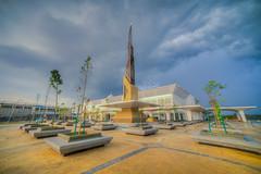 Cyberjaya Green Mosque (Mohamad Zaidi Photography) Tags: green cloudy sony mosque malaysia handheld environment hdr cloudformation selangor cyberjaya jais smalltree abouttorain a7s mohamadzaidiphotography masjidcyberjaya sony1018oss cyberjayagreenmosque jabatanagamaislamselangor