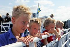 Leisure (FamiljenHelsingborg) Tags: sea summer ferry boat skne sweden ven landskrona