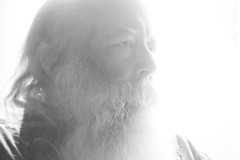 Tom (anakin1814) Tags: light white man beard afternoon bright whiskers santaclaus mustache