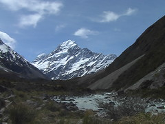 The Peak of Mount Cook