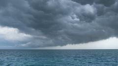 Another Big Cloud (Denzil D) Tags: gulfofmexico clouds canon florida bluewater storms floridakeys stormclouds marathonflorida boatfishing fishingbuddies wifescamera