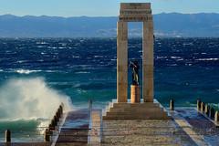 Arena (francescopaololento) Tags: nikon mare reggiocalabria inverno calabria 2015