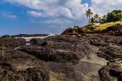 Ancient lava flow (EricWBrown) Tags: water hawaii lava paradise pacific oahu peaceful coastline ericbrown kailua