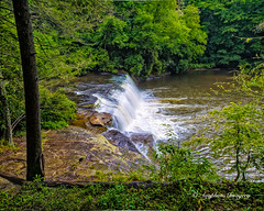 Side of Hooker Falls (augphoto) Tags: nature water outdoors waterfall unitedstates scenic northcarolina pisgahforest augphotoimagery