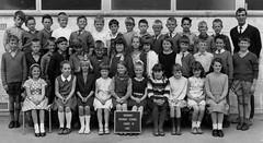 Class Photo (theirhistory) Tags: children boys girls school primary junior class form jumper shorts trousers shoes sandals dress photo uniform wellies wellingtonboots teacher board socks pupils students education