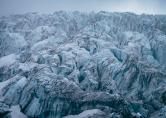 Ice Titan (Pedalhead'71) Tags: ice fog landscape us washington unitedstates glacier ridge mountbaker heliotrope deming colemanglacier