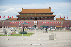 Tiananmen, Beijing (Tony Shi, Life) Tags: china travel architecture buildings forbiddencity tiananmensquare tiananmen touristattraction bejing palacemuseum traveldestinations famousplace