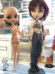 Tutorial hbrido pullip + Barbie Made to move (Nepenthe (Sutura Workshop) - NEW ACCOUNT!) Tags: body barbie move made groove pullip hybrid tutorial tanned selina nepenthe hibrido sutura suturaworkshop