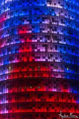 Agbar (Andrea Morico) Tags: barcelona city sea color tower beach church animal contrast landscape spain nikon mare torre peacock chiesa sagradafamilia colori spiaggia animale barcellona paesaggio spagna citt pavone contrasto d610
