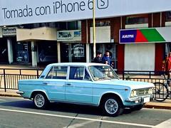 Fiat 125 1972 - Santiago, Chile (RiveraNotario) Tags: chile santiago cars fiat autos carspotting fiat125